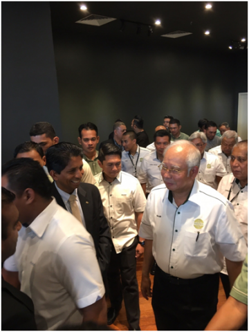 PEKEMA Building launching ceremony in Malaysia.