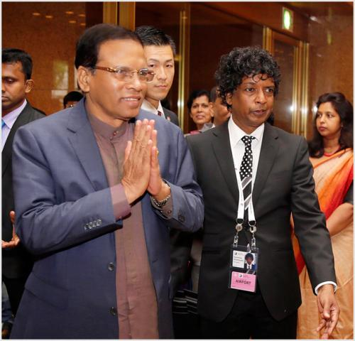 Proposal handed over to the president Maithripala Sirisena during the Japan visit.