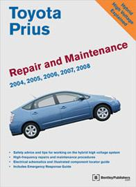 Toyota Prius Repair and Maintenance Manual.