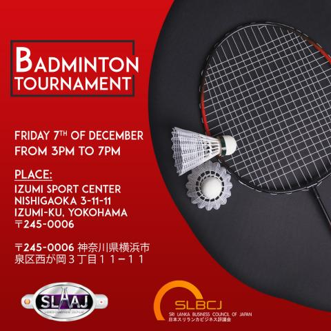 Gear Up for First Time Ever Badminton Tournament 2018