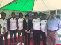SLAEAJ Cricket promotion and Non-Medicament healing at the Sri Lankan Festival 2016.