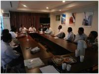 SLAEAJ held their official meeting before the Sri Lankan Festival 2013.